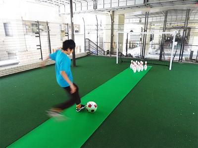 サッカーボーリング