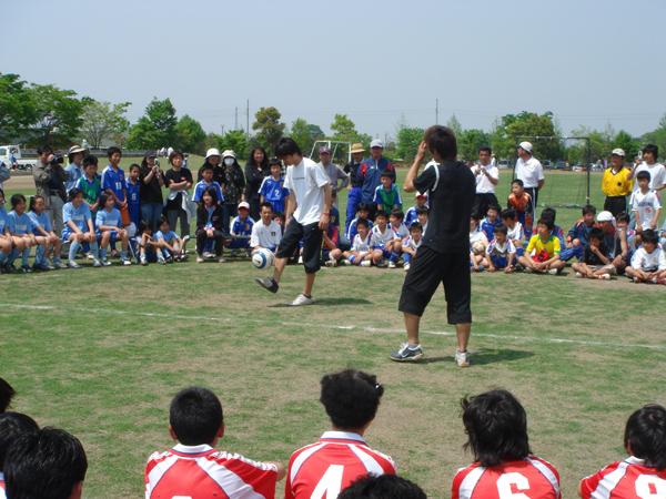 川島町少年サッカー大会