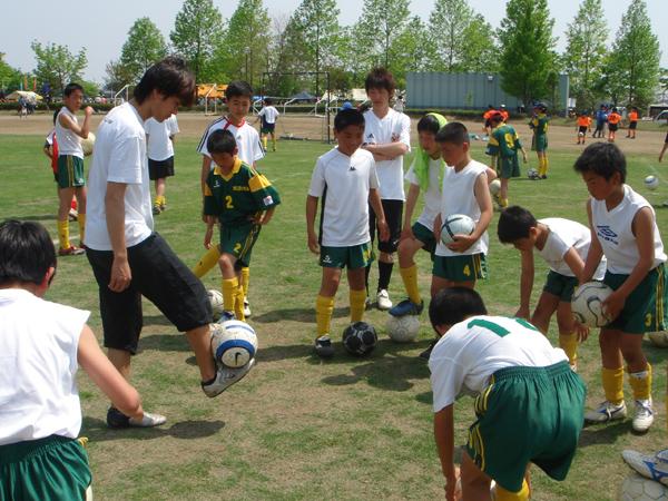 川島町少年サッカー大会3