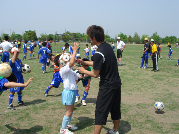 川島町少年サッカー大会4