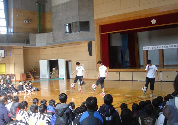 小金井1SC創立30周年記念式典6