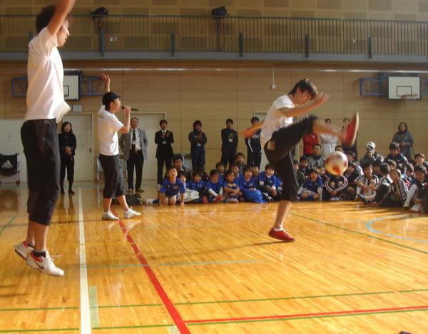 小金井1SC創立30周年記念式典