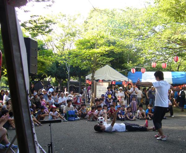 城北公園夏祭り3