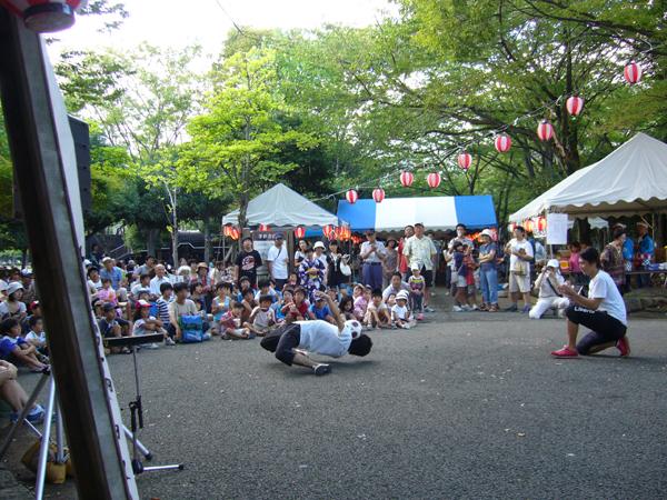 城北公園夏祭り2