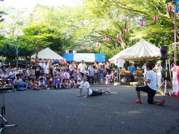 城北公園夏祭り