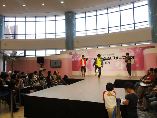 アクアシティお台場 ファッションショー3