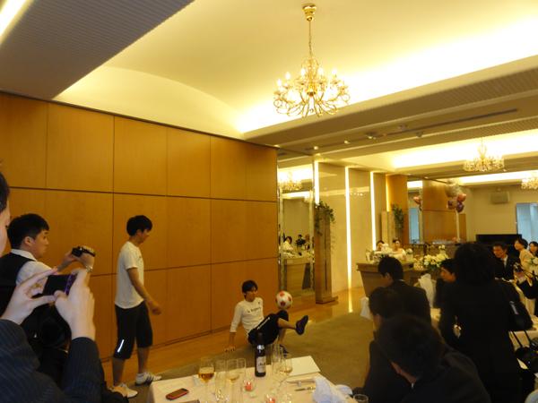 結婚式披露宴2