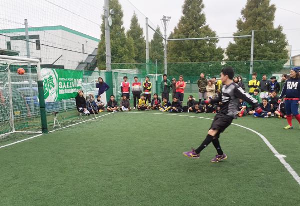 サッカーキックスピード