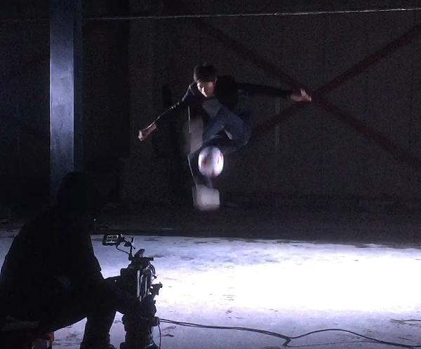 フリースタイルフットボール撮影7