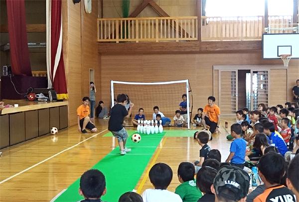 サッカーボーリング3