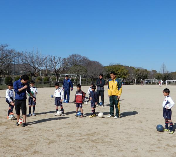 少年サッカーリフティング教室2