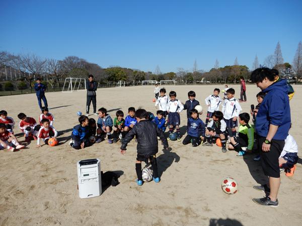 少年サッカーリフティング教室