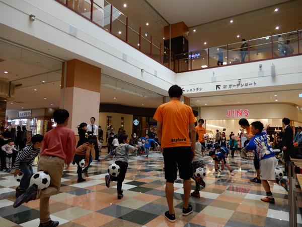 ピオニウォーク東松山リフティング教室3