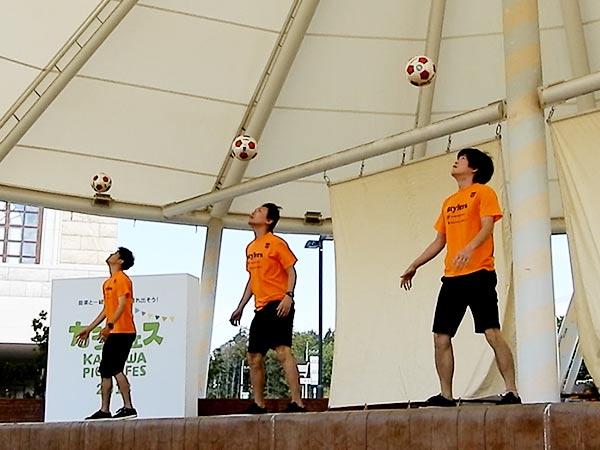 セブンパークアリオ柏 『カシフェス~KASHIWA PICNIC FES~2018』フリースタイルフットボール16