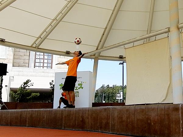 セブンパークアリオ柏 『カシフェス~KASHIWA PICNIC FES~2018』フリースタイルフットボール2