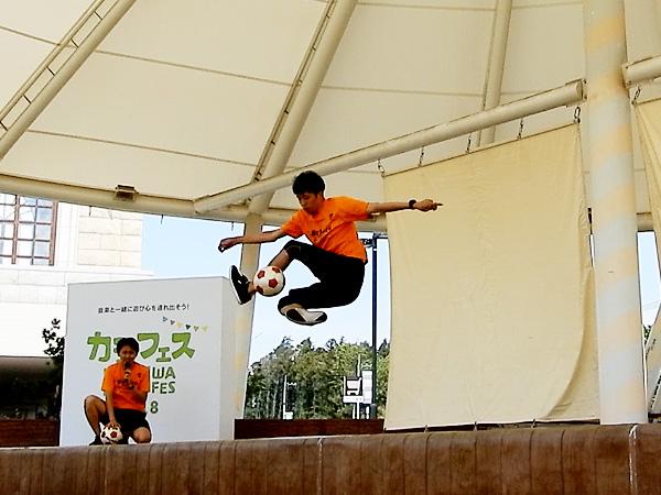 セブンパークアリオ柏 『カシフェス~KASHIWA PICNIC FES~2018』フリースタイルフットボール3