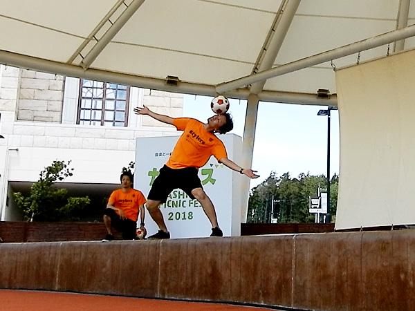 セブンパークアリオ柏 『カシフェス~KASHIWA PICNIC FES~2018』フリースタイルフットボール7
