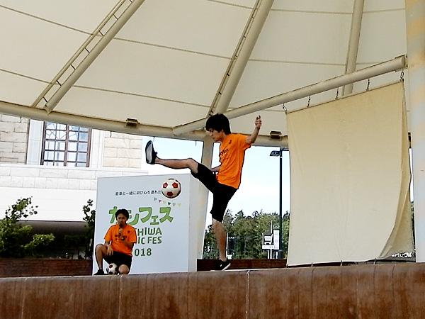 セブンパークアリオ柏 『カシフェス~KASHIWA PICNIC FES~2018』フリースタイルフットボール8