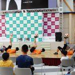 イオンモール秋田 フリースタイルフットボールパフォーマンス3