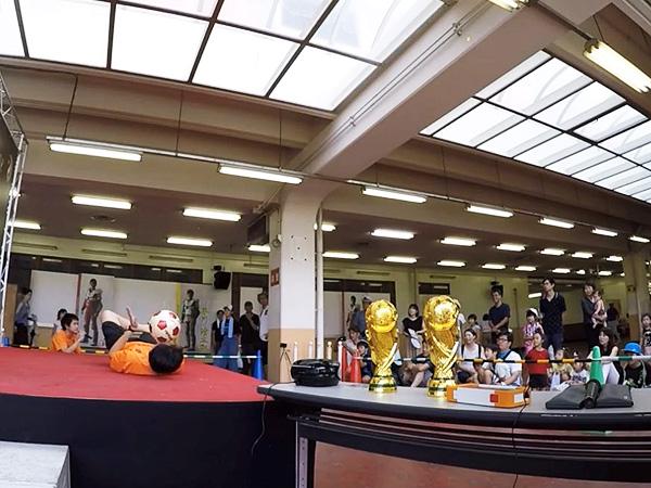 伊勢崎鉄馬縁日 フリースタイルフットボール10