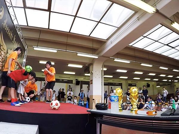 伊勢崎鉄馬縁日 フリースタイルフットボール9