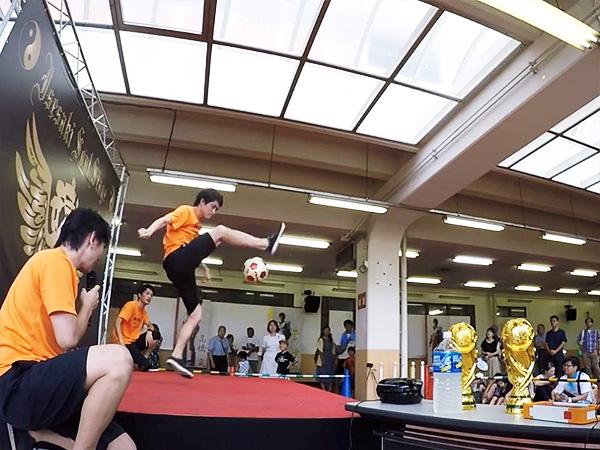 伊勢崎鉄馬縁日 フリースタイルフットボール5