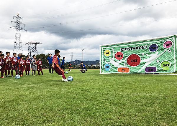 日東シンコー杯 U-10福井県少年サッカー選手権大会でフリースタイルフットボール5