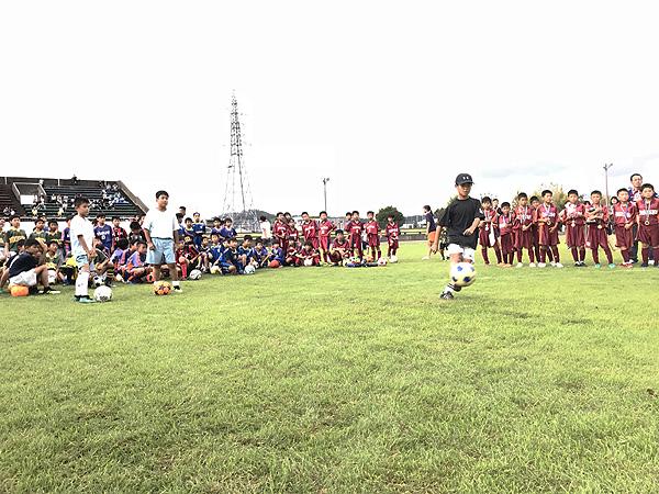 日東シンコー杯 U-10福井県少年サッカー選手権大会でフリースタイルフットボール10