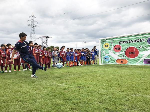 日東シンコー杯 U-10福井県少年サッカー選手権大会でフリースタイルフットボール11